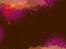 Abstracte grungeachtergrond, vector Royalty-vrije Stock Fotografie