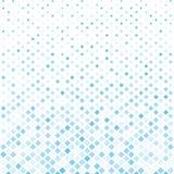 Abstracte halftone blauwe vierkante patroonachtergrond, moderne Vector stock illustratie