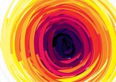 Abstracte halftone illustratieachtergrond, Royalty-vrije Stock Foto's