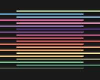 Abstracte halftone lijnen kleurrijke achtergrond Stock Foto