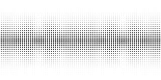 Abstracte halftone textuur met punten stock illustratie