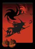 Abstracte Halloween achtergrond stock illustratie
