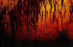 Abstracte Halloween achtergrond stock afbeelding