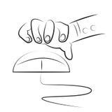 Abstracte Hand Royalty-vrije Stock Afbeelding
