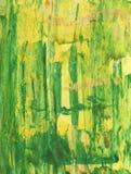 Abstracte hand geschilderde waterverfachtergrond Decoratieve chaotische kleurrijke textuur voor ontwerp Hand getrokken beeld op p Stock Foto