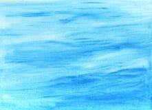 Abstracte hand geschilderde waterverfachtergrond Decoratieve chaotische kleurrijke textuur voor ontwerp Hand getrokken beeld op p Royalty-vrije Stock Afbeelding