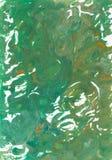 Abstracte hand geschilderde waterverfachtergrond Decoratieve chaotische kleurrijke textuur voor ontwerp Hand getrokken beeld op p Royalty-vrije Stock Fotografie