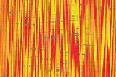 Abstracte harde van de golf multi-colored textuur illustratie als achtergrond royalty-vrije illustratie