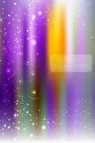 Abstracte helder schittert achtergrond met weinig sterren Stock Afbeeldingen