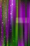 Abstracte helder schittert achtergrond met weinig sterren Stock Foto