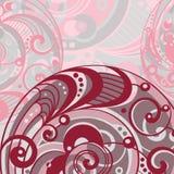 Abstracte heldere achtergrond met spiraal Stock Afbeeldingen