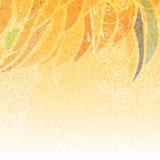 Abstracte heldere beige bloemenachtergrond Royalty-vrije Stock Foto