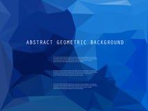 Abstracte heldere geometrische veelhoekige achtergrond Royalty-vrije Stock Foto's