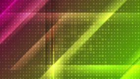 Abstracte heldere glanzende geometrische videoanimatie vector illustratie