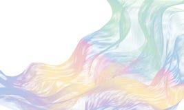 Abstracte Heldere kleurrijke Golven Royalty-vrije Stock Foto's