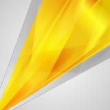 Abstracte heldere oranje achtergrond royalty-vrije illustratie