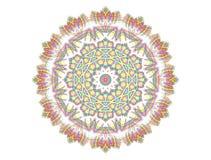 Abstracte heldere patroonvorm vector illustratie