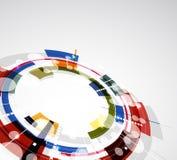 Abstracte heldere technologieachtergrond Stock Foto