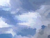 Abstracte hemel vector illustratie
