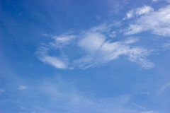 Abstracte Hemel en wolken als achtergrond Royalty-vrije Stock Afbeelding