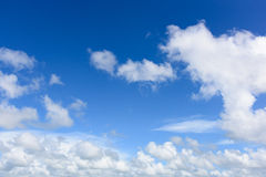 Abstracte hemelwolk royalty-vrije stock afbeelding