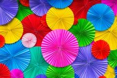 Abstracte het Document van de behangregenboog Kleurrijke patroonachtergrond Stock Afbeelding
