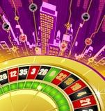 Abstracte het gokken achtergrond Royalty-vrije Stock Afbeeldingen