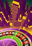 Abstracte het gokken illustratie Stock Foto's