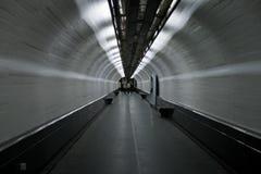 Abstracte het lopen tunnel Royalty-vrije Stock Fotografie