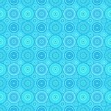 Abstracte het patroonachtergrond van het cirkelmozaïek - vectorillustratie royalty-vrije illustratie