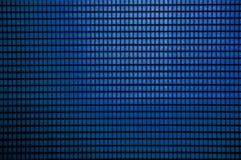 Abstracte het patroonachtergrond van de Grunge blauwe kleur Stock Foto