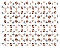 Het patroon van de koffie Royalty-vrije Stock Fotografie