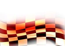 Abstracte het rennen vlag royalty-vrije stock foto's