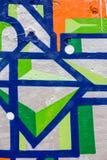 Abstracte het schilderen achtergrond Royalty-vrije Stock Afbeeldingen