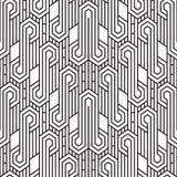 Abstracte hexagon patroonachtergrond Royalty-vrije Stock Foto