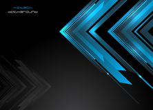 Abstracte hi-tech achtergrond Stock Foto's