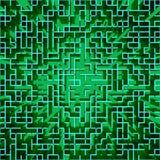 Abstracte hi-tech matrijs-als geometrische achtergrond stock illustratie