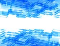 Abstracte high-tech achtergrond Stock Illustratie