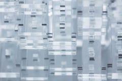 Abstracte high-tech achtergrond Details van transparant plastiek of glas Laserknipsel van plexiglas Stock Fotografie