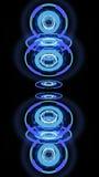 Abstracte high-tech wielen, 3d illustratie Stock Afbeeldingen