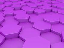 Abstracte honingraten Stock Afbeelding