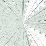 Abstracte hoogste kaartbanner voor globalisering of mape sujet stock illustratie