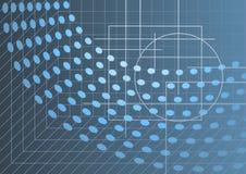 Abstracte hoogte - technologieachtergrond Stock Foto