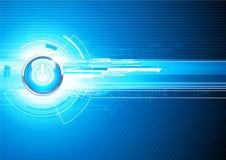 Abstracte hoogte - technologieAchtergrond Stock Foto's