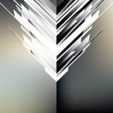 Abstracte hoogte - technologieachtergrond Vector illustratie Stock Fotografie