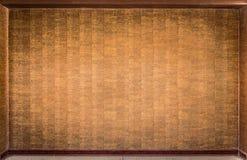 Abstracte houten die muur als achtergrond wordt gebruikt Stock Foto