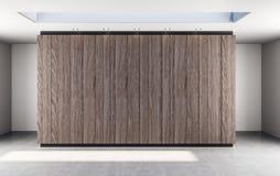 Abstracte houten muur vector illustratie