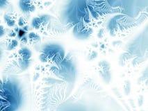 Abstracte ijs-bloemen Royalty-vrije Stock Afbeelding