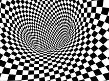 Abstracte Illusie stock illustratie