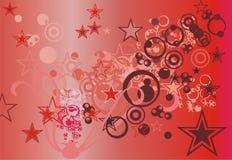 Abstracte illustratie Stock Fotografie